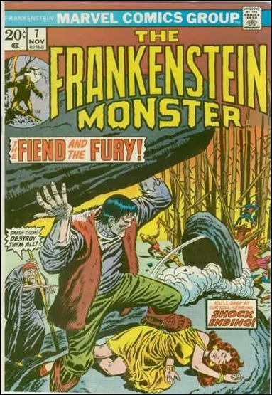 Frankenstein (1973) 7-A by Marvel