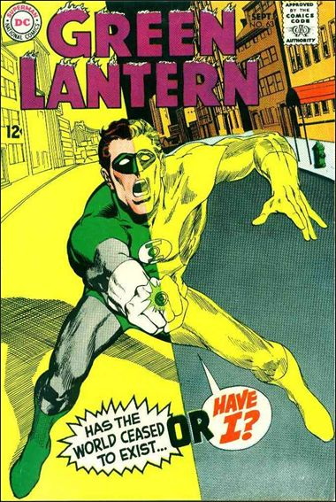 Green Lantern (1960) 63-A by DC
