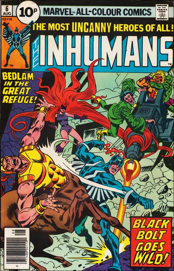 Inhumans (1975) 6-C by Marvel