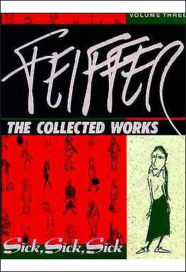 Feiffer: The Collected Works 3-A by Fantagraphics
