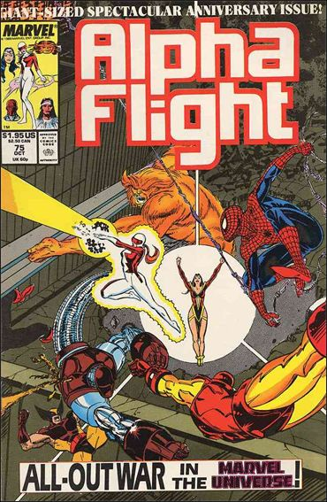 Alpha Flight (1983) 75-A by Marvel