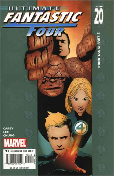 Ultimate Fantastic Four 20-A by Marvel