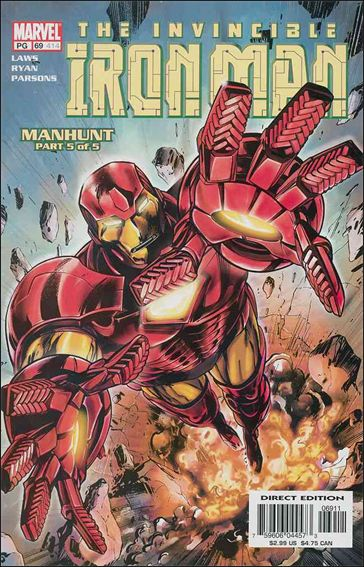 Iron Man (1998) 69-A by Marvel