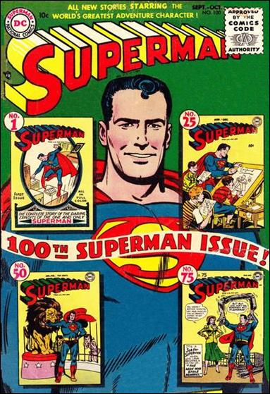 Superman (1939) 100-A by DC