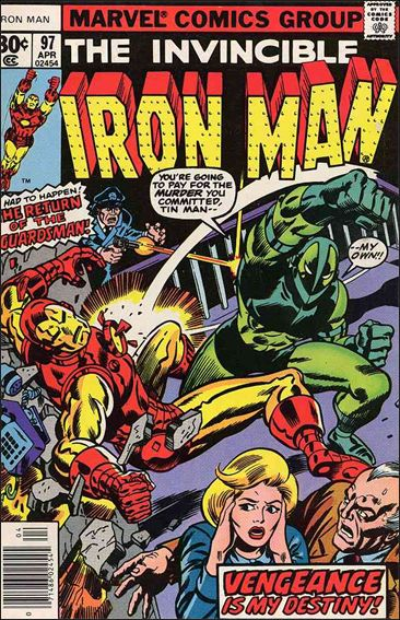 Iron Man (1968) 97-A by Marvel