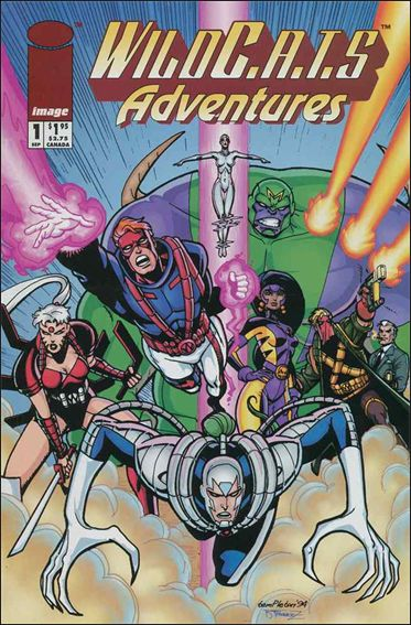WildC.A.T.s Adventures 1-A by Image