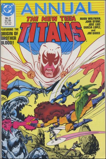 New Teen Titans Annual '2'-A by DC