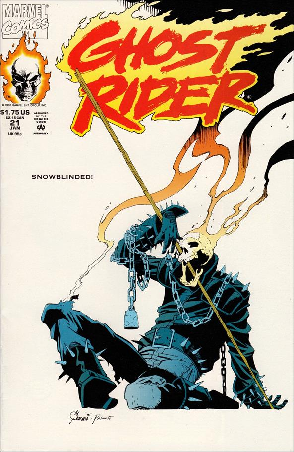 Ghost Rider (1990) 21-A by Marvel