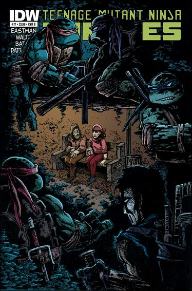 Teenage Mutant Ninja Turtles (2011) 17-B by IDW