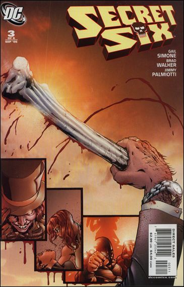 Secret Six (2006) 3-A by DC