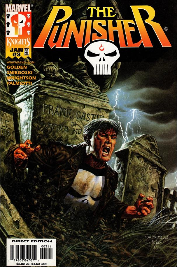 Punisher (1998) 3-A by Marvel