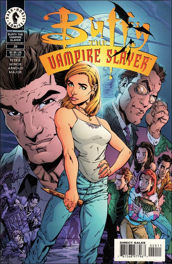 Buffy the Vampire Slayer 20-A by Dark Horse