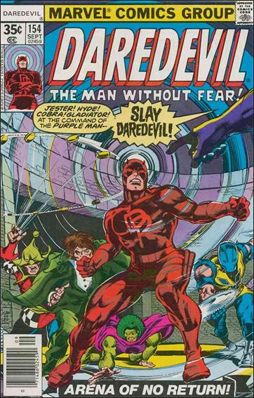 Daredevil (1964) 154-A by Marvel
