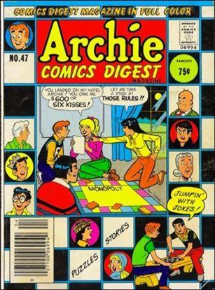 Archie Comics Digest Magazine 47-A