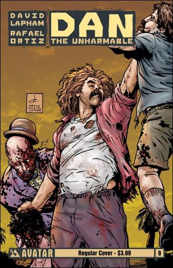 Dan the Unharmable 9-A by Avatar Press