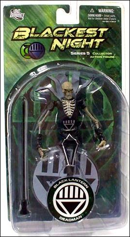 Blackest Night (Series 5) Black Lantern Deadman by DC Direct