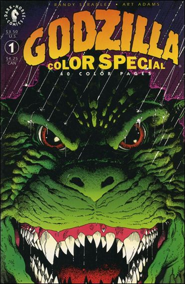 Godzilla Color Special 1-A by Dark Horse