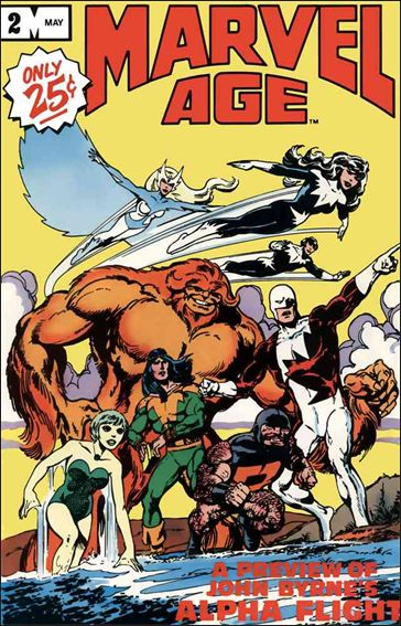 Marvel Age 2-A by Marvel