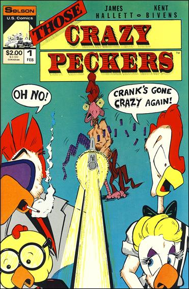Those Crazy Peckers 1-A by Solson