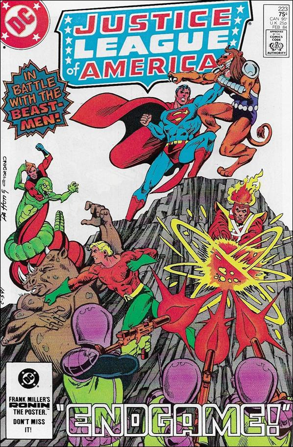 Justice League of America (1960) 223-A by DC
