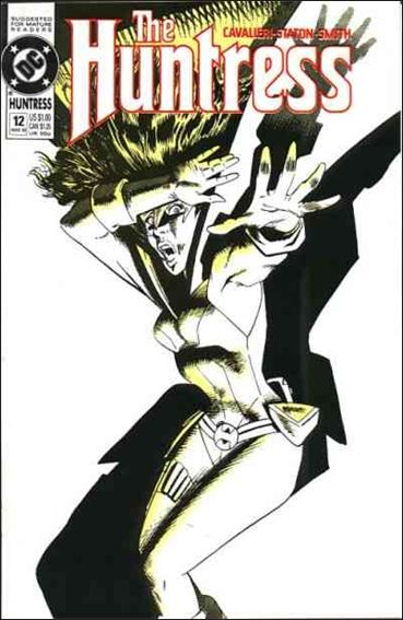 Huntress (1989) 12-A by DC
