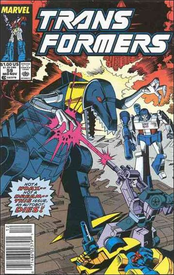 Transformers (1984) 59-A by Marvel
