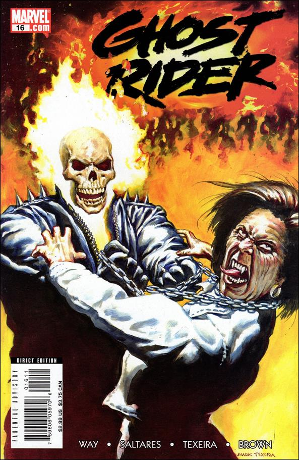 Ghost Rider (2006) 16-A by Marvel