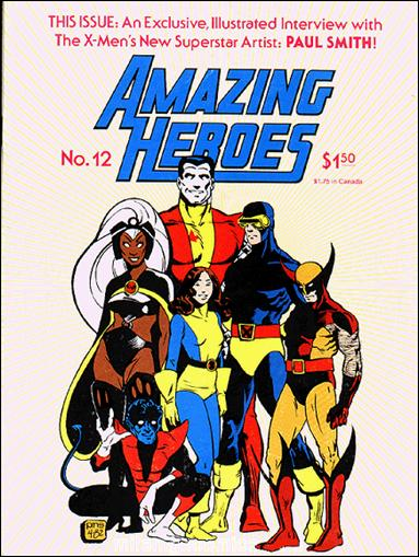 Amazing Heroes 12-A by Fantagraphics