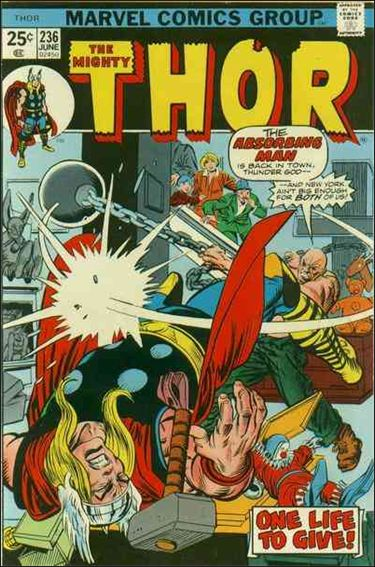 Thor (1966) 236-A by Marvel