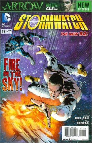 StormWatch (2011) 17-A by DC