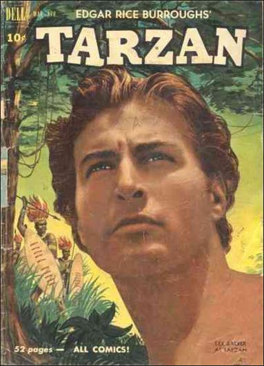 Tarzan (1948) 20-A by Dell