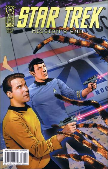 Star Trek: Mission's End 2-A by IDW
