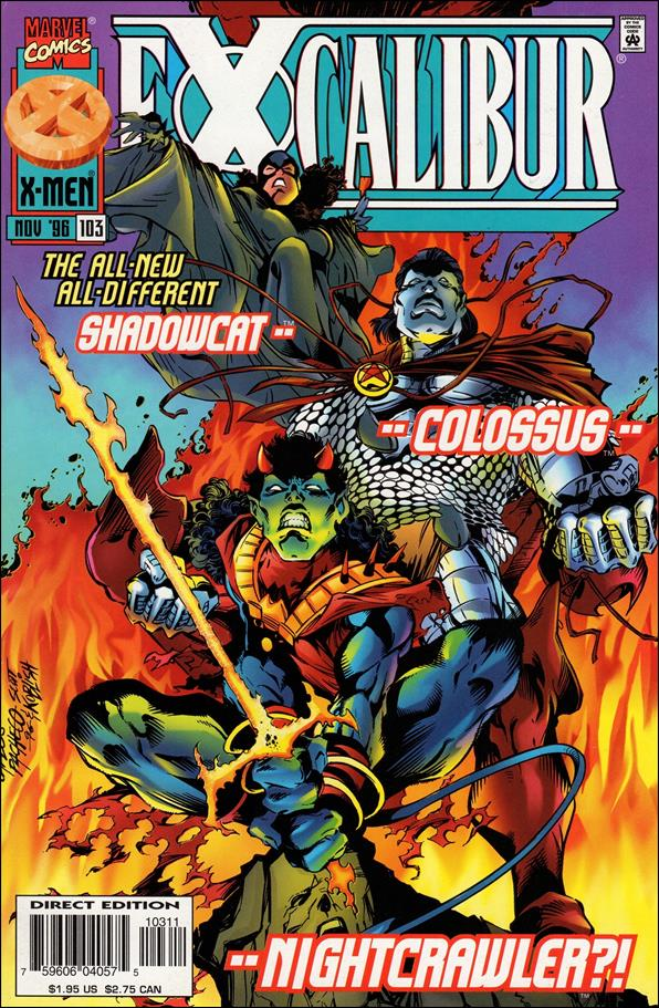 Excalibur (1988) 103-A by Marvel