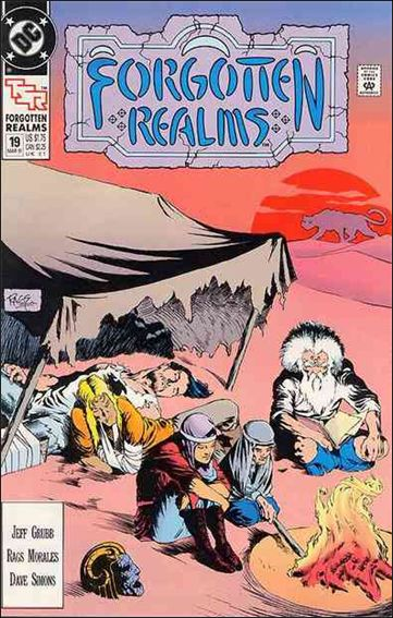 Forgotten Realms 19-A by DC