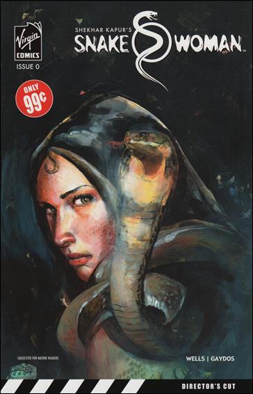 Snake Woman 0-A by Virgin Comics
