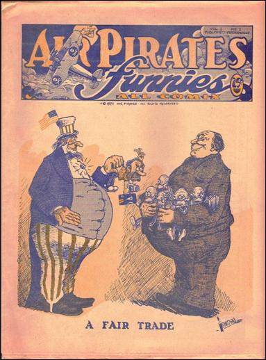 Air Pirates Funnies (1972) 1-A by Air Pirates Collective