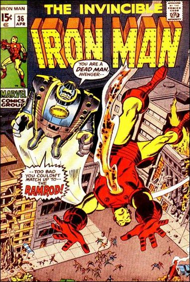 Iron Man (1968) 36-A by Marvel