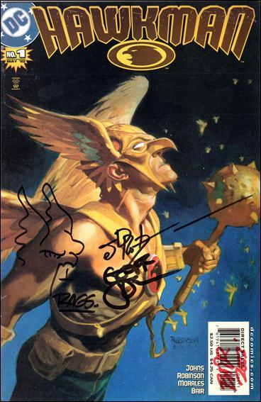 Hawkman (2002) 1-C by DC