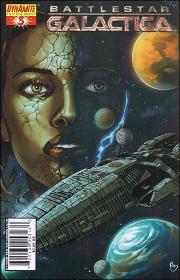 Battlestar Galactica (2006) 3-C by Dynamite Entertainment