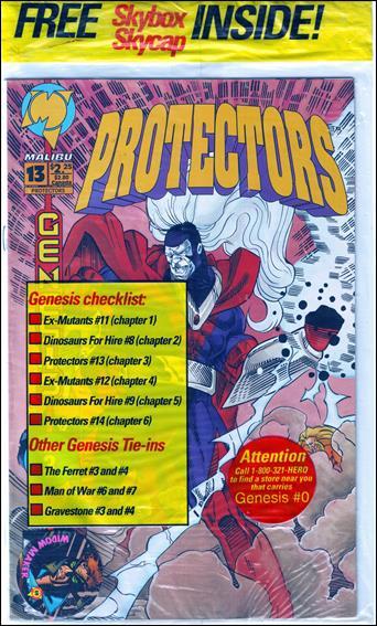 Protectors (1992) 13-A by Malibu
