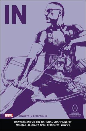 Hawkeye vs Deadpool 4-B