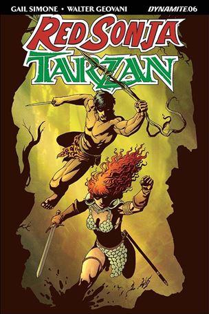 Red Sonja / Tarzan 6-A