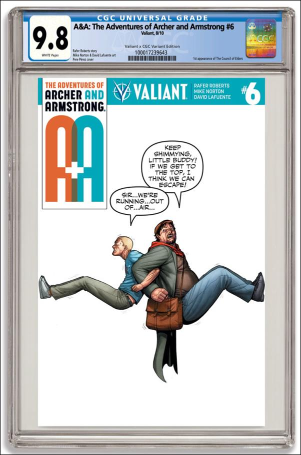 A&A: The Adventures of Archer & Armstrong 6-D by Valiant Entertainment