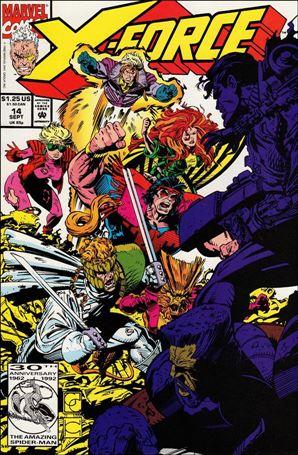 X-Force (1991) 14-A