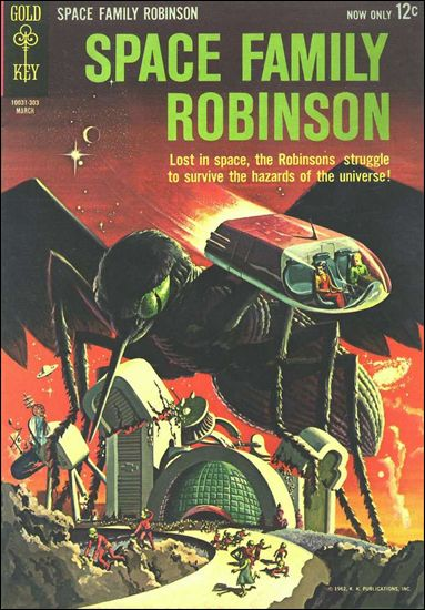 Space Family Robinson 2-A by Gold Key