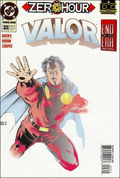 Valor (1992) 23-A by DC