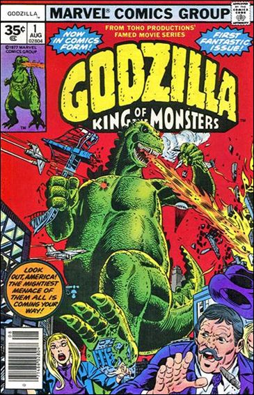 Godzilla (1977) 1-B by Marvel