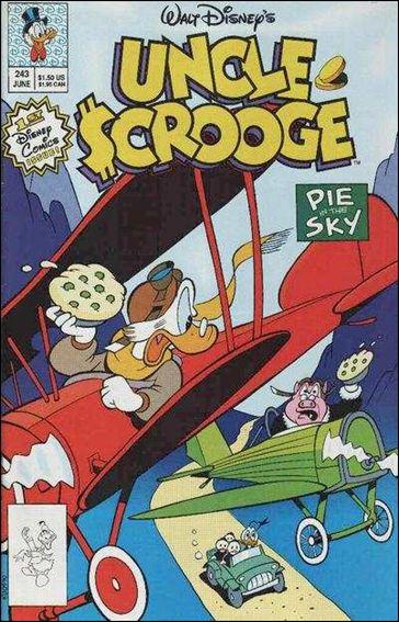 Walt Disney's Uncle Scrooge 243-A by Gemstone