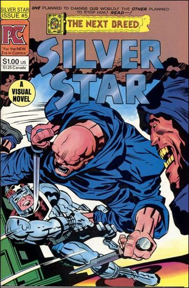Silver Star (1983) 5-A by Pacific Comics
