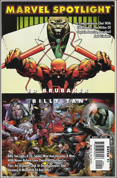 Marvel Spotlight: Ed Brubaker/Billy Tan nn-A by Marvel